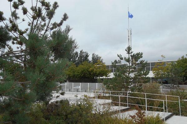 L'aménagement d'un parvis sur le site du Palais des Congrès-Foire d'Exposition