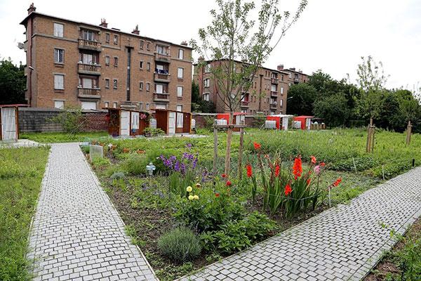 Cœur d'Îlot de la Cité Jardin de Stains