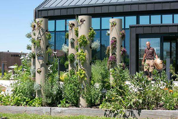 Ruban Bocager et jardin comestible - Le village Fleury Michon à Pouzauges